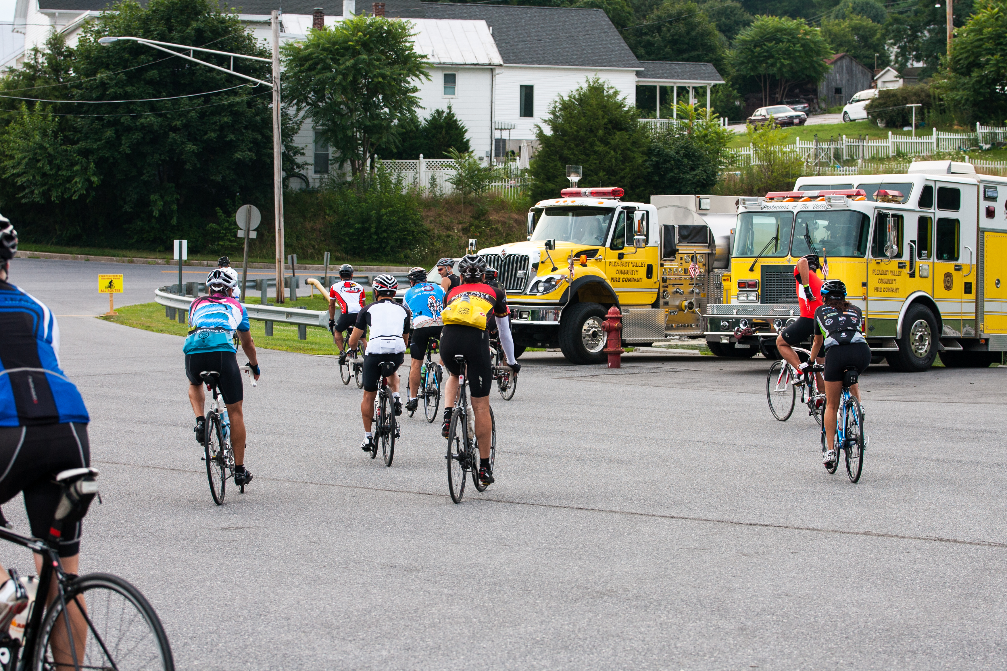 Firefighter 50 Bicycle Ride – July 21, 2019